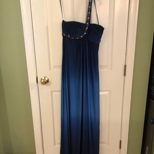 One-Shoulder, Ombré Prom Gown!
